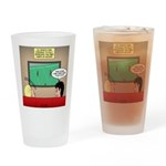 US and Soccer Drinking Glass