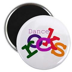 Dance Rocks Magnet