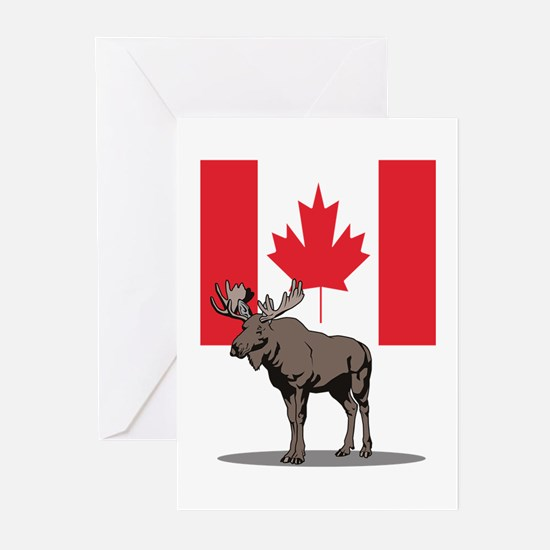 Canadian Moose Greeting Cards (Pk of 10)