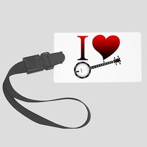 I love banjo Luggage Tag