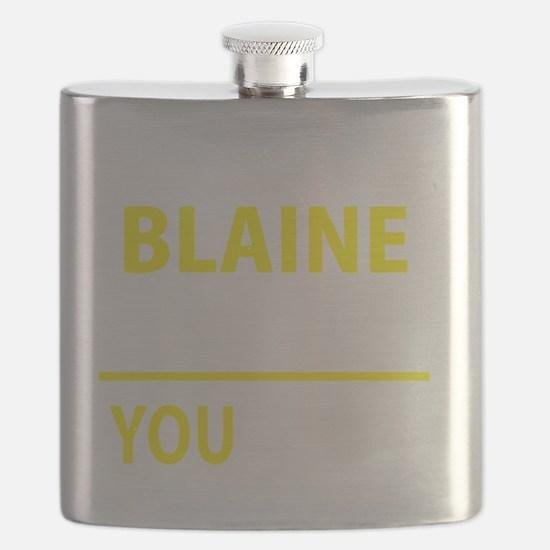 Funny Blaine Flask