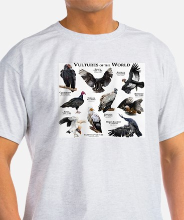 Vultures of the World T-Shirt