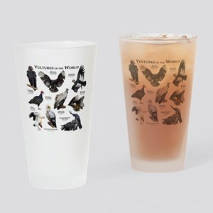 Vultures of the World Drinking Glass
