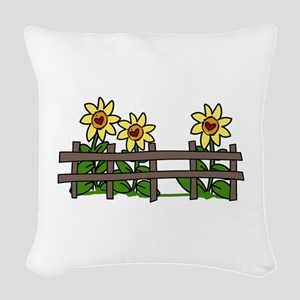 Country Hog Pig Woven Throw Pillow