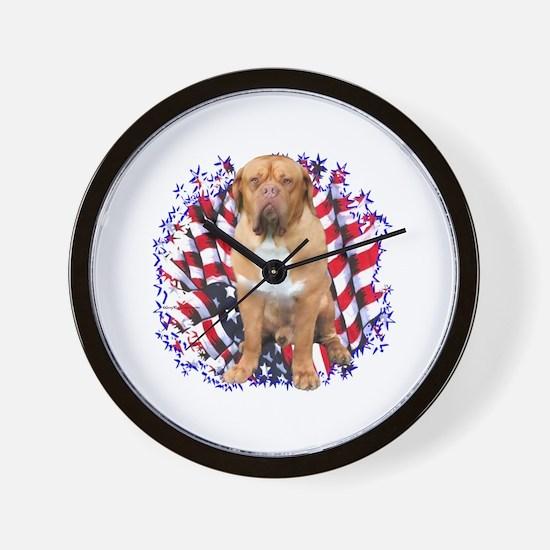 Dogue Patriot Wall Clock