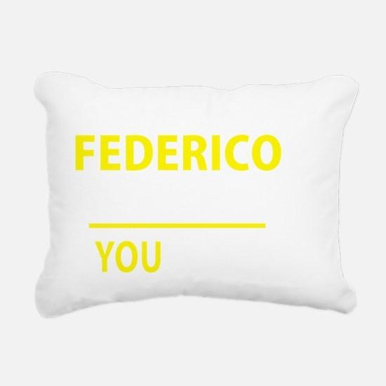 Cute Federico Rectangular Canvas Pillow