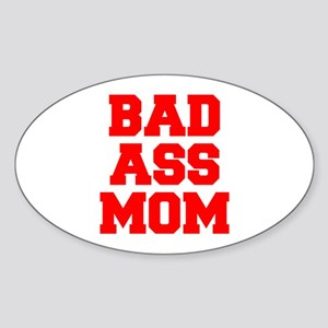 bad-ass-mom-FRESH-RED Sticker