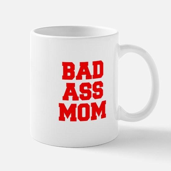 bad-ass-mom-FRESH-RED Mugs