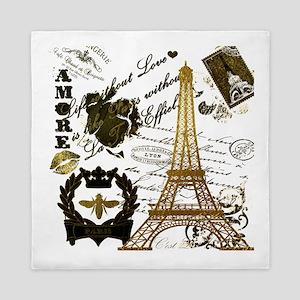 La Tour Eiffel Queen Duvet