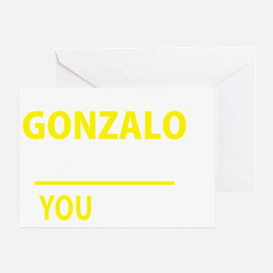 Unique Gonzalo Greeting Card