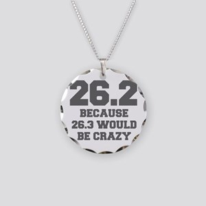 BECAUSE-26.3-WOULD-BE-CRAZY-FRESH-GRAY Necklace
