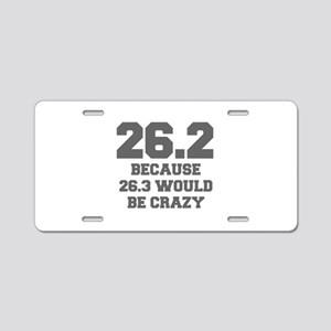 BECAUSE-26.3-WOULD-BE-CRAZY-FRESH-GRAY Aluminum Li