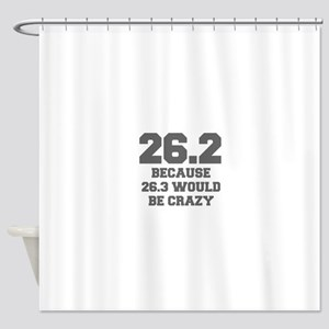 BECAUSE-26.3-WOULD-BE-CRAZY-FRESH-GRAY Shower Curt