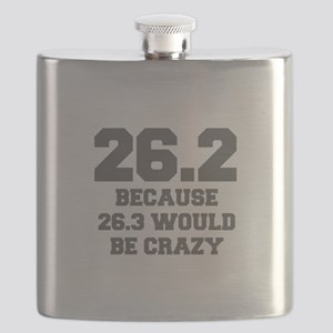 BECAUSE-26.3-WOULD-BE-CRAZY-FRESH-GRAY Flask