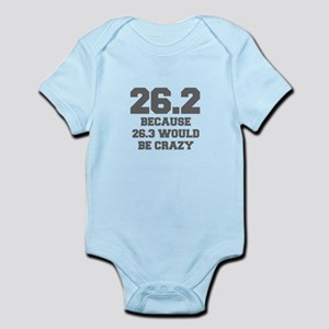 BECAUSE-26.3-WOULD-BE-CRAZY-FRESH-GRAY Body Suit