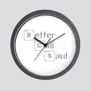 better-call-saul-breaking-gray Wall Clock