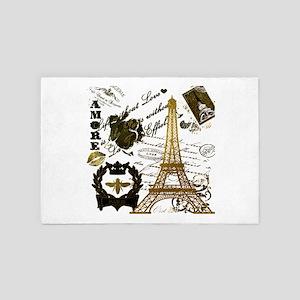 La Tour Eiffel 4' x 6' Rug
