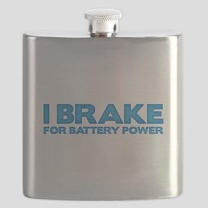 I brake for battery power Flask