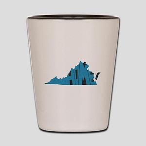 Virginia Home Shot Glass