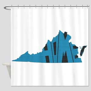 Virginia Home Shower Curtain