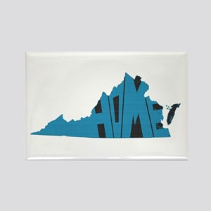 Virginia Home Rectangle Magnet
