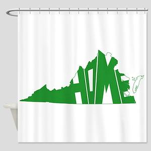 Virginia Home Shower Curtain