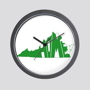 Virginia Home Wall Clock