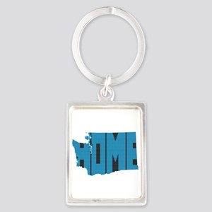 Washington Home Portrait Keychain