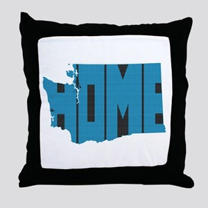 Washington Home Throw Pillow