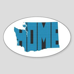 Washington Home Sticker (Oval)