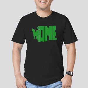 Washington Home Men's Fitted T-Shirt (dark)