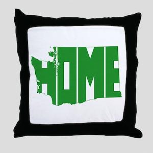 Washington Home Throw Pillow