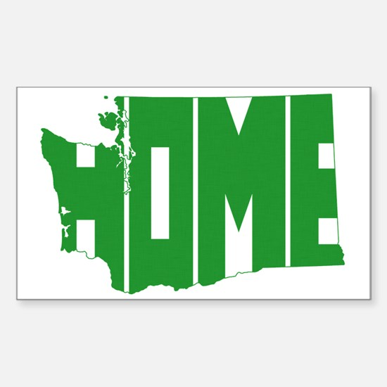 Washington Home Sticker (Rectangle)