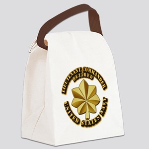 Navy - Lieutenant Commander - O-4 Canvas Lunch Bag