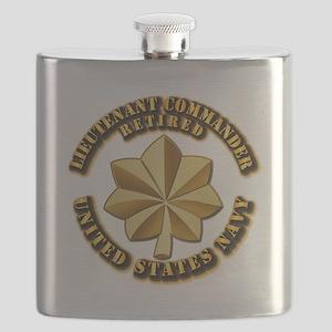 Navy - Lieutenant Commander - O-4 - V1 - Ret Flask