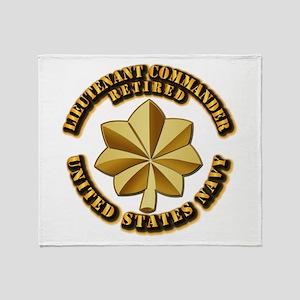Navy - Lieutenant Commander - O-4 - Throw Blanket