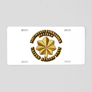 Navy - Lieutenant Commander Aluminum License Plate