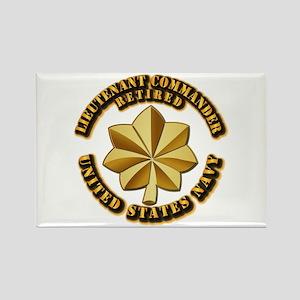 Navy - Lieutenant Commander - O-4 Rectangle Magnet
