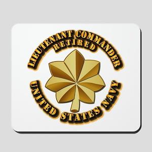 Navy - Lieutenant Commander - O-4 - V1 - Mousepad