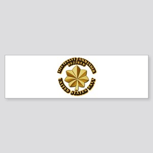 Navy - Lieutenant Commander - O-4 Sticker (Bumper)