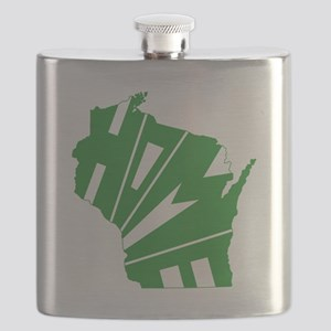 Wisconsin Home Flask