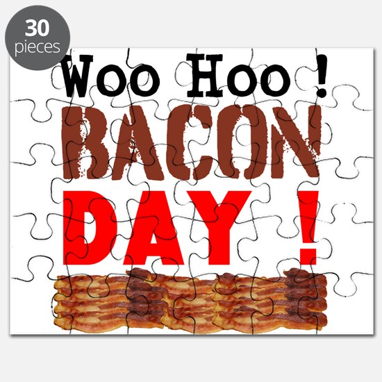 Woo Hoo Bacon Day Puzzle