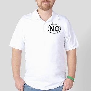 No Golf Shirt