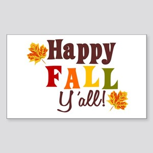 Happy Fall Yall! Sticker