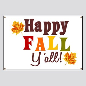 Happy Fall Yall! Banner