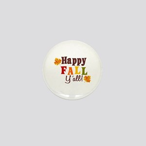 Happy Fall Yall! Mini Button