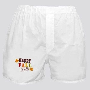Happy Fall Yall! Boxer Shorts