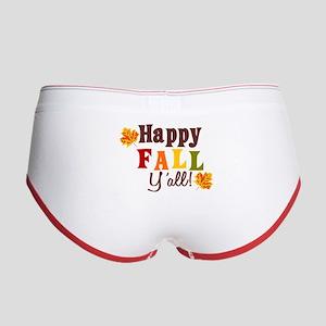Happy Fall Yall! Women's Boy Brief