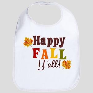 Happy Fall Yall! Bib