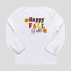 Happy Fall Yall! Long Sleeve T-Shirt